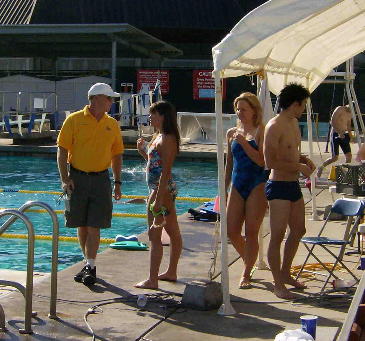 Swimmer Swim Meet Candids